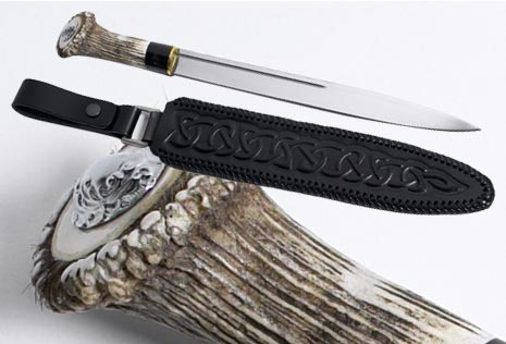 Scottish Dirk Stag Amp Buffalo Horn Handle